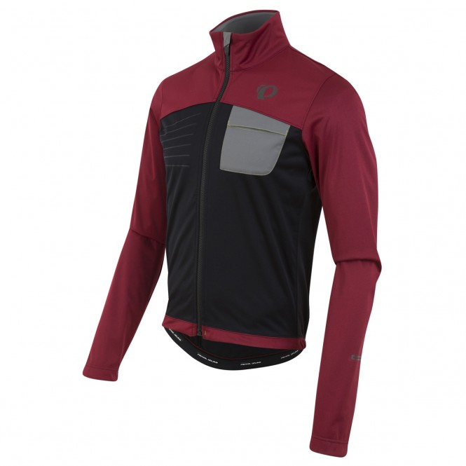 Select Escape softshell-pyöräilytakki (red/black)