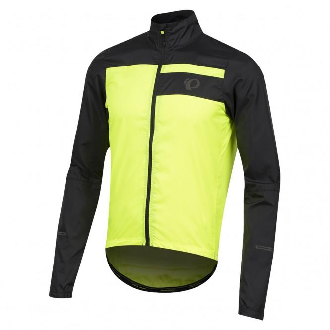 Escape Barrier, miesten pyöräilytakki (black/screaming yellow)