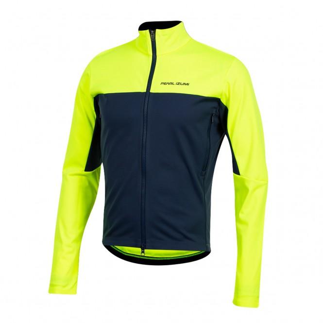 Interval AmFIB, miesten pyöräilytakki (screaming yellow)