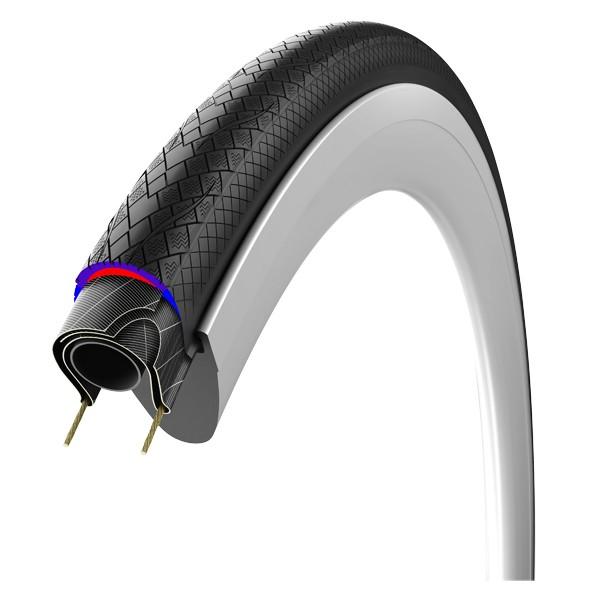 Road Rubino pro endurance maantiepyörän ulkorengas (28-622mm, musta, taittuva)