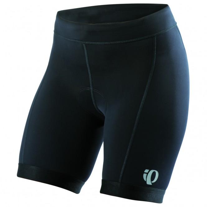 Select, naisten triathlonhousu pehmusteella (lyhyt, musta)