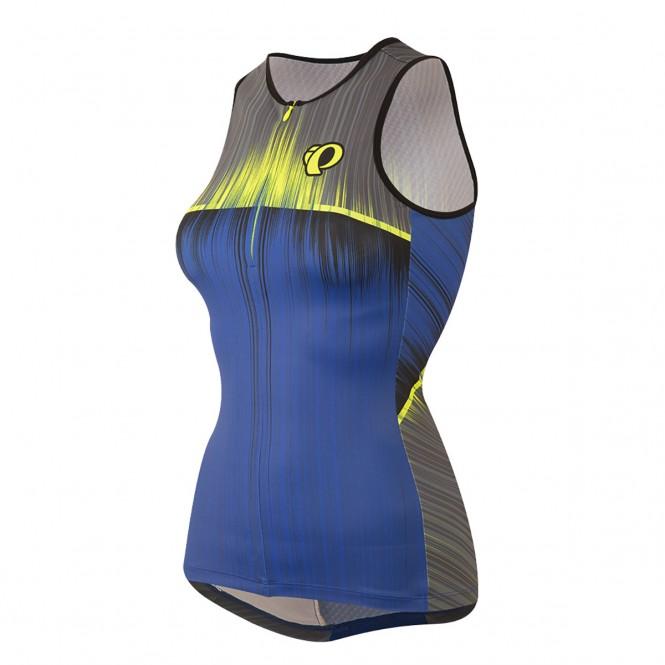 Elite In-R-Cool, naisten triathlonpaita (Vaporize Dazzling Blue)
