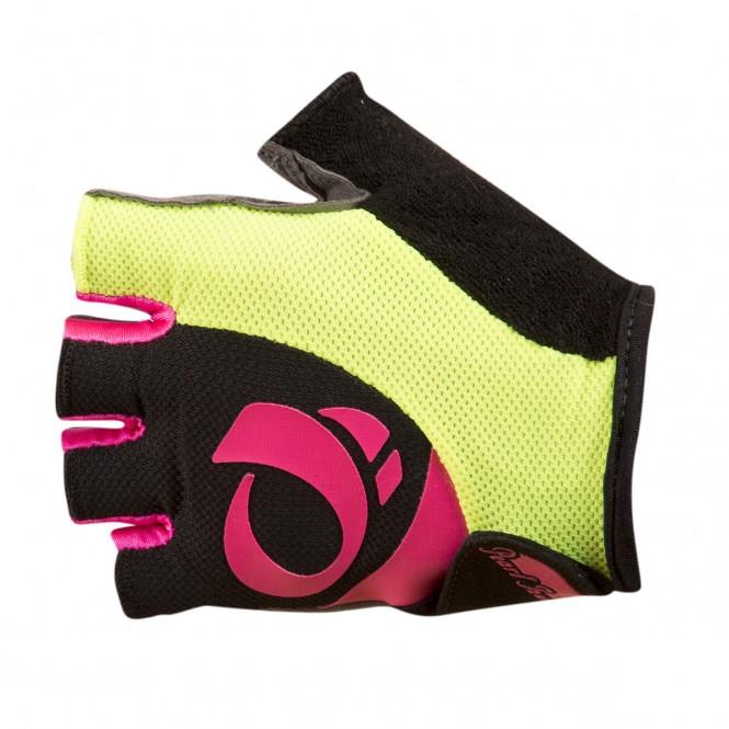Select, naisten pyöräilyhanskat (musta/pinkki)
