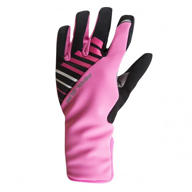 Elite Softshell Gel, naisten pyöräilyhanskat (pinkki)