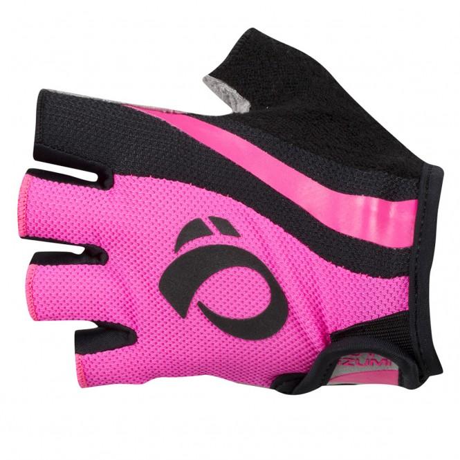 Select naisten pyöräilyhanskat (pinkki/musta)