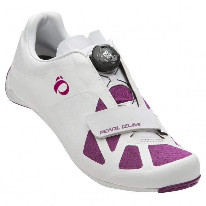 Road IV, naisten maantiepyöräilykengät (SPD-SL, valkoinen/purple)