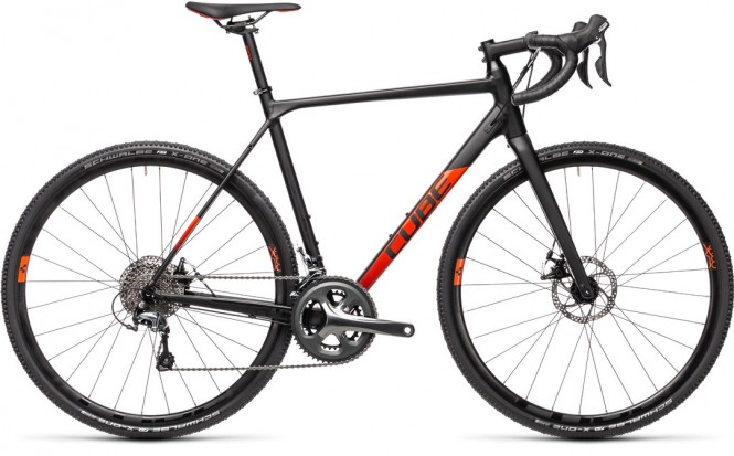 Cross Race cyclocross (2x10-v, black/red)