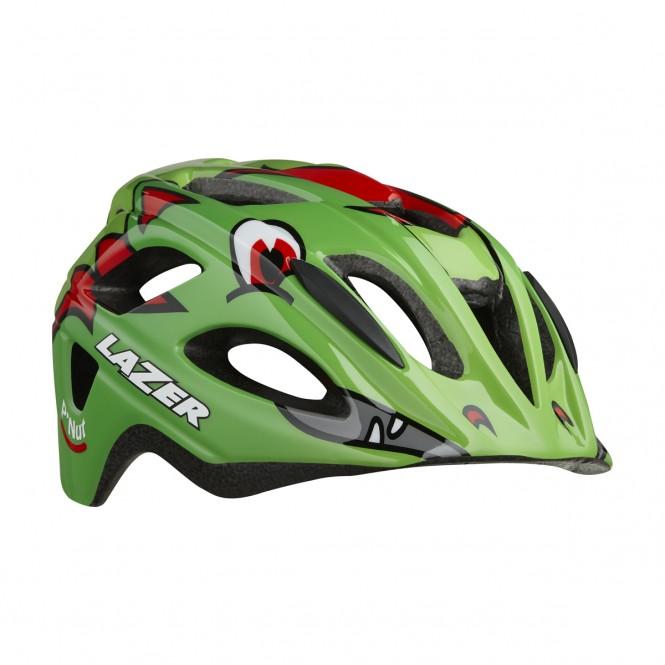 Pnut, lasten pyöräilykypärä (vihreä)