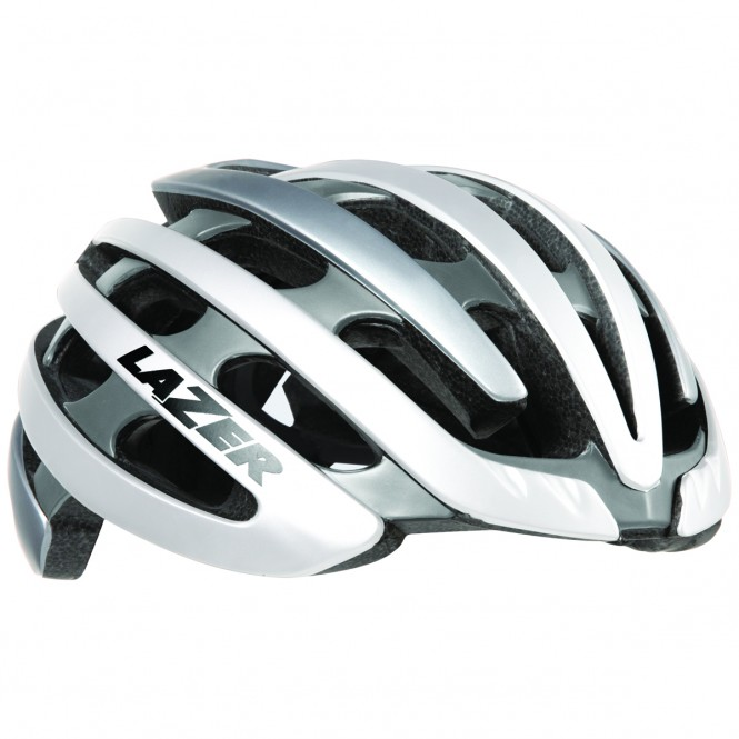 Z1 pyöräilykypärä (valkoinen/hopea)