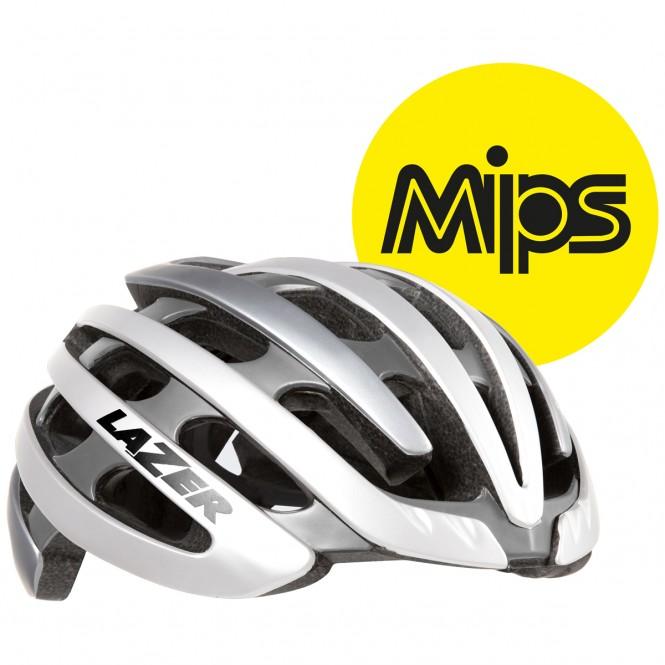 Z1 Mips pyöräilykypärä (valkoinen/hopea)
