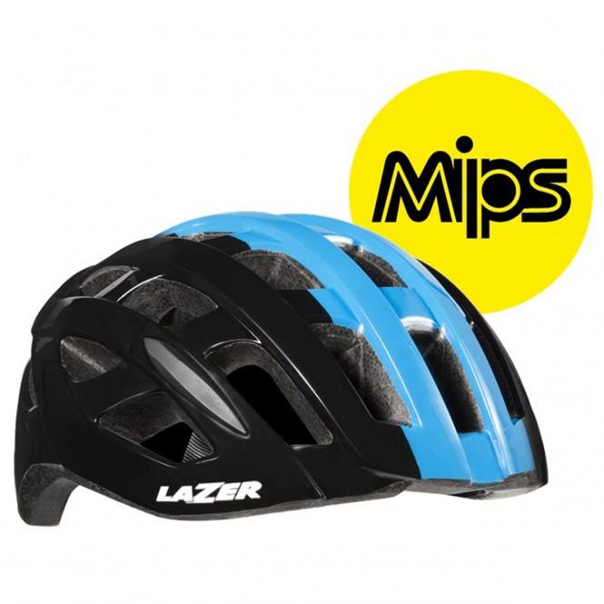 Tonic Mips pyöräilykypärä (musta/sininen)