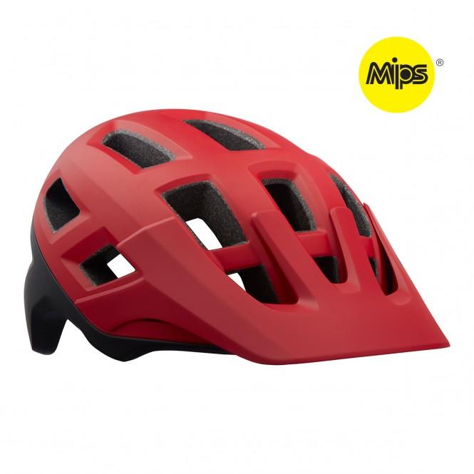 Pyöräilykypärä Coyote MIPS (matta punainen/musta)