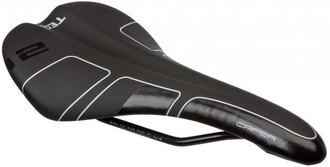 Caper polkupyörän istuin (musta)