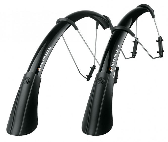Raceblade XL, polkupyörän lokasuojat (28, leveys 42mm, pari, musta)