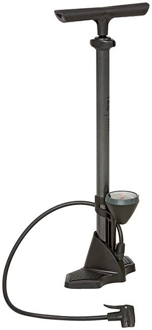 Aeris polkupyörän jalkapumppu (musta)