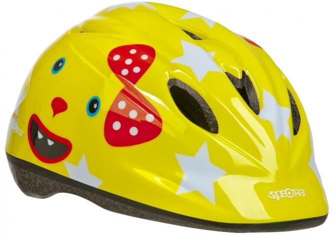 CAT-C, lasten pyöräilykypärä (keltainen)