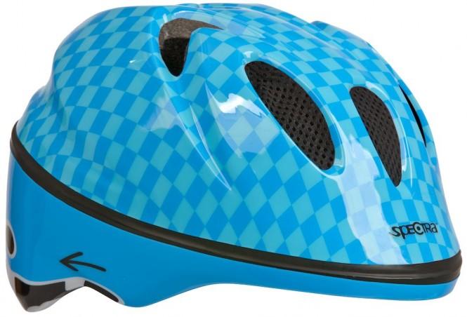 Helmer, lasten pyöräilykypärä (sininen)
