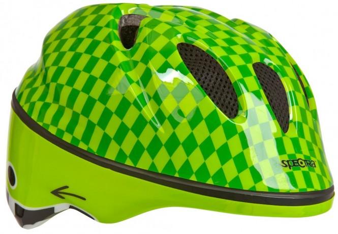 Helmer, lasten pyöräilykypärä (vihreä)