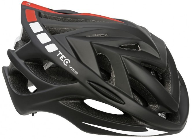 Vis Ev1 pyöräilykypärä (musta)