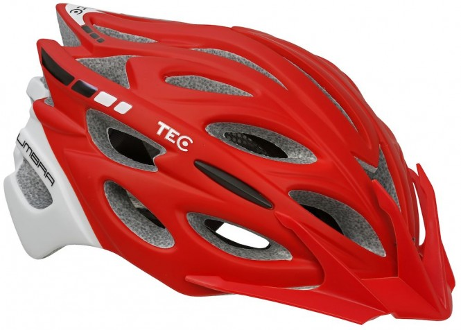 Umbra Ev1 pyöräilykypärä (punainen)