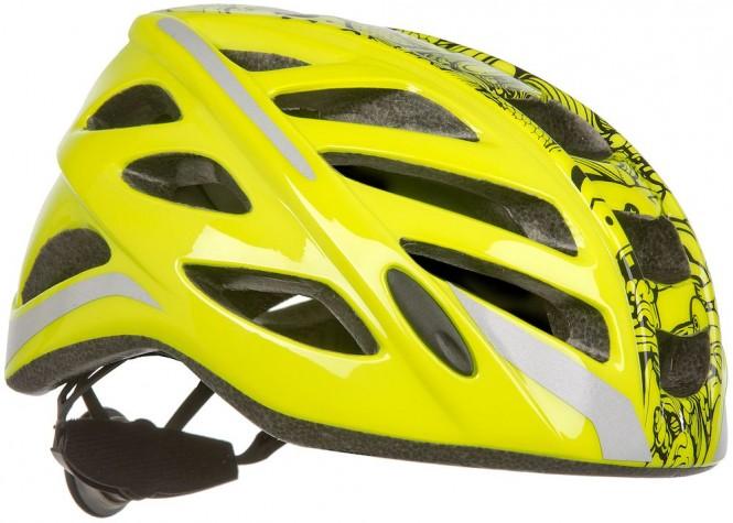 Helmer Ev1, lasten pyöräilykypärä (keltainen)