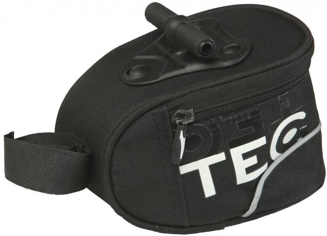 Polkupyörän istuinlaukku (musta, 0,75L)