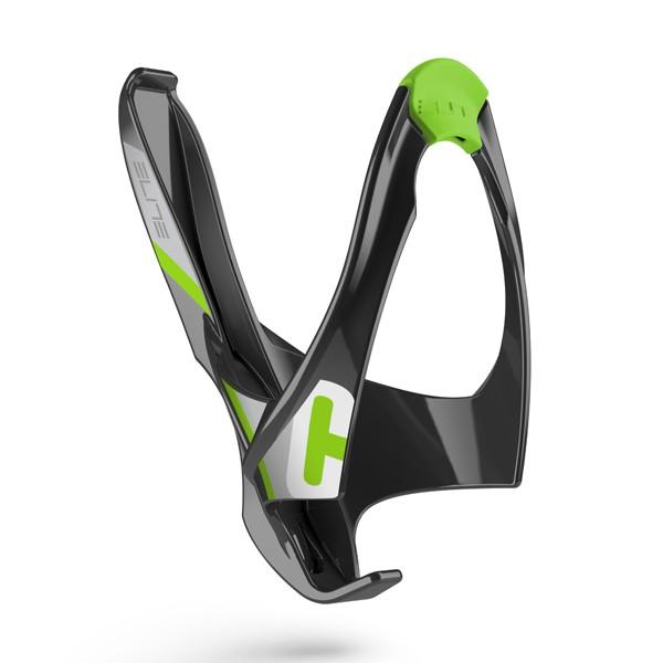 Cannibal polkupyörän juomapulloteline (musta/vihreä)