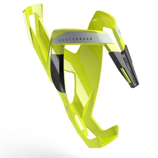 Custom Race+ polkupyörän juomapulloteline (keltainen)