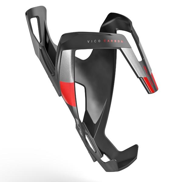 Vico Carbon polkupyörän juomapulloteline (musta/punainen)