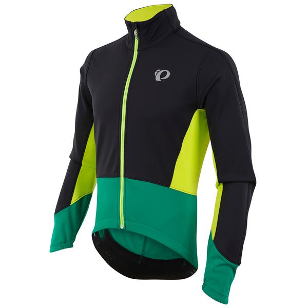 myyntipisteiden myynti kilpailukykyinen hinta kohtuullinen hinta Elite pursuit softshell-pyöräilytakki (musta/vihreä)