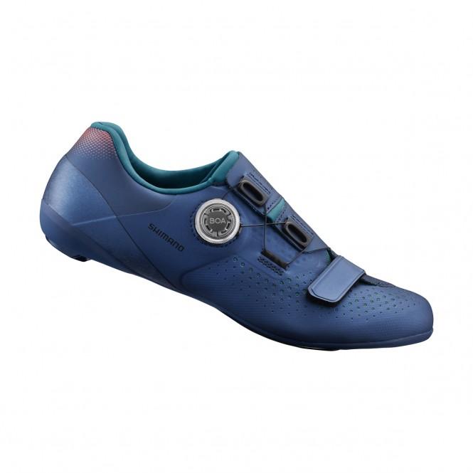 RC500 LVG naisten maantiepyöräilykengät (SPD-SL, sininen)