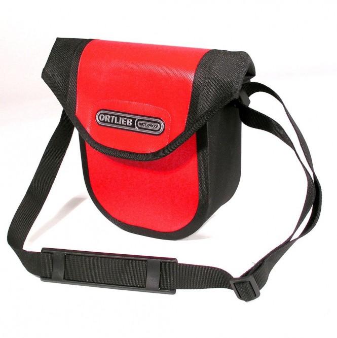 Ultimate 6 Compact polkupyörän ohjaintankolaukku (punainen/musta, 2,7L)