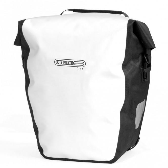Back-Roller City Pari (40L, valkoinen/musta)