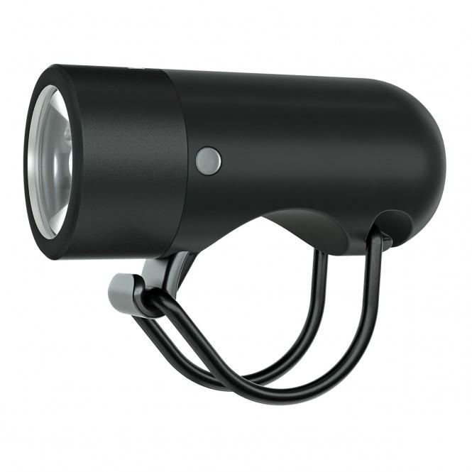Plug, polkupyörän etuvalaisin (musta, 250LM)