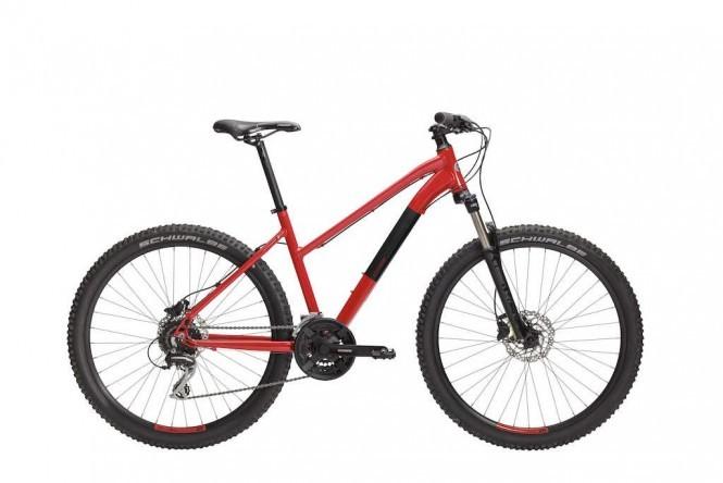 Modig M70 26 etuj. maastopyörä (3x8-v, punainen/musta)