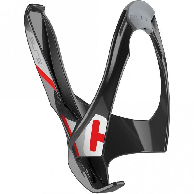 Cannibal polkupyörän juomapulloteline (musta/punainen)