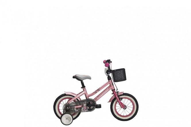 Snotra 12, lasten polkupyörä (Pinkki)