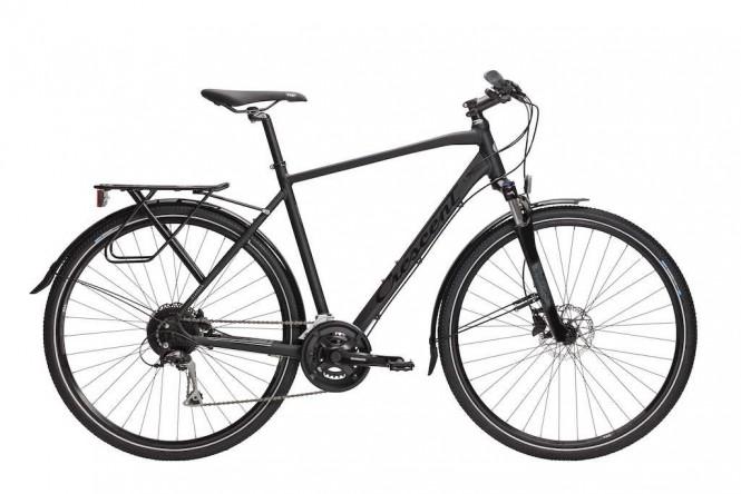 Starren, hybridipyörä (16-vaihteinen, Musta)