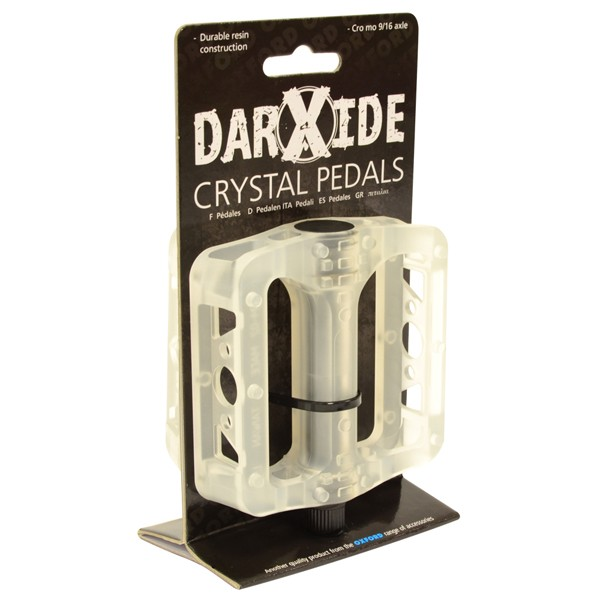 Darxide BMX-polkimet (valkoinen)