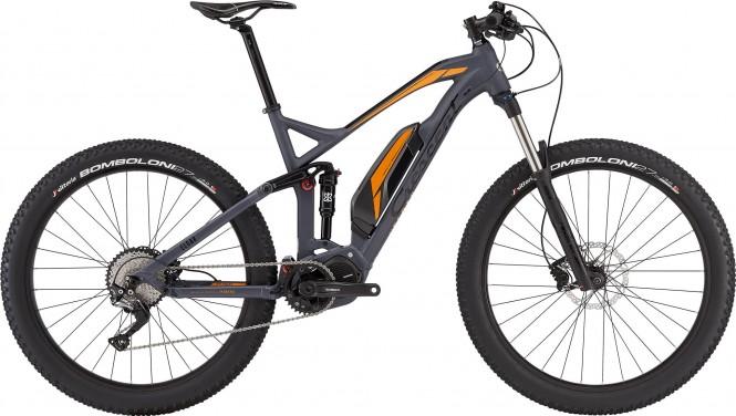 Elgar E8000, täysj. Sähkömaastopyörä (11-vaihteinen, harmaa, 27.5+)