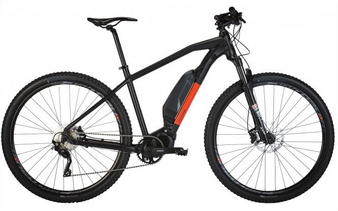 Kraft K40 Shimano E6000 29 etuj. sähkömaastopyörä (10-v, musta)