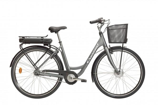 817 E-Going, sähkökaupunkipyörä (Nexus 7-v, harmaa)