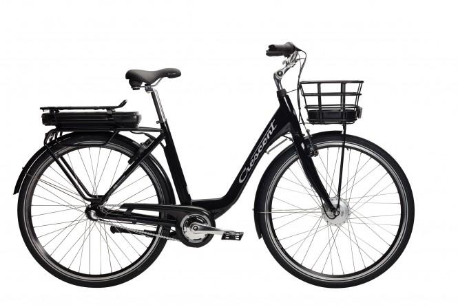 Ella E-Going, sähkökaupunkipyörä (Nexus 3-vaihteinen, musta)