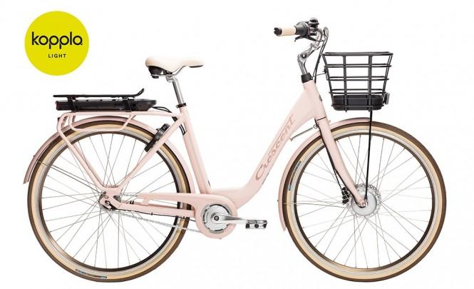 Elina, sähkökaupunkipyörä (7-vaihteinen, Roosa)