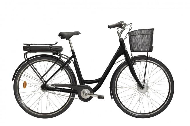 E-Emma, sähkökaupunkipyörä (7-vaihteinen, Musta)