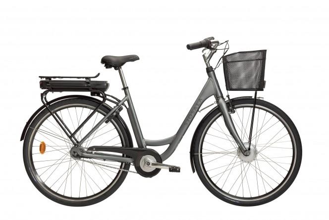 Sjösala, sähkökaupunkipyörä (Nexus 7-v, harmaa)
