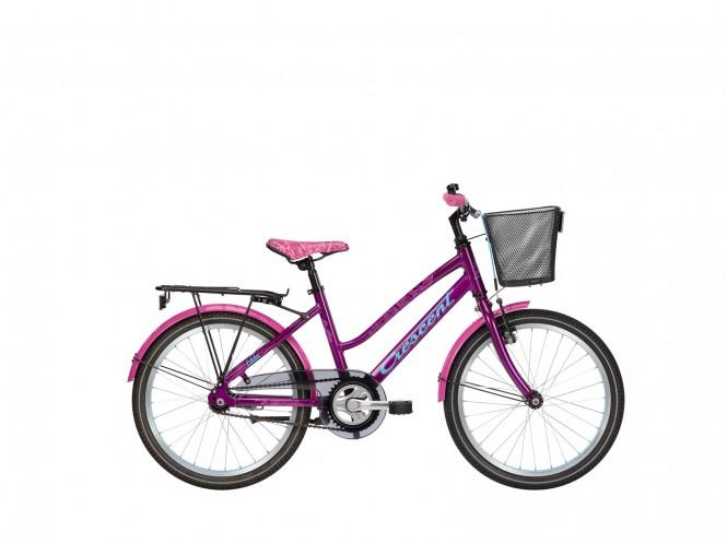 """Edda, 20"""" lasten polkupyörä (1-v, lila)"""