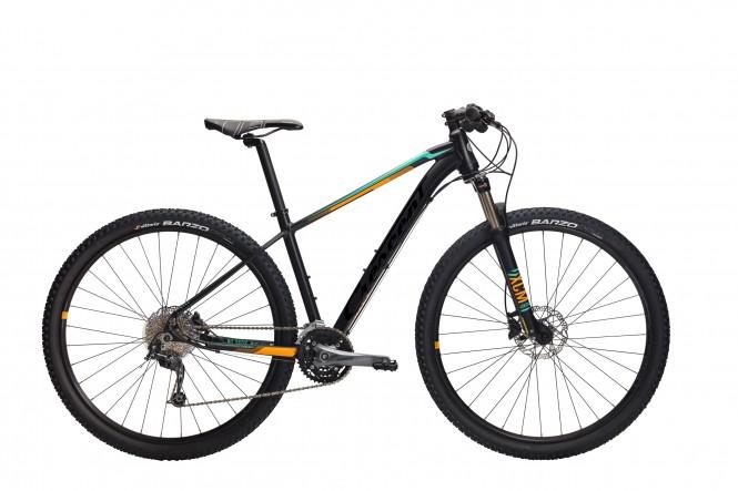 """Kile, 29"""" etuj. maastopyörä (27-v, musta/keltainen)"""