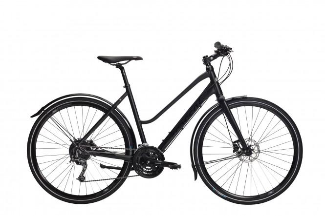 Nikka, hybridipyörä (27-v, musta)