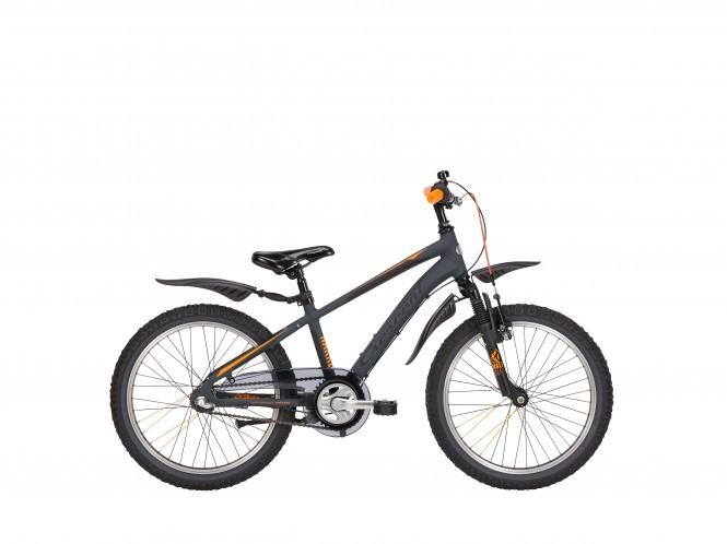 Narre 20 etuj. lasten maastopyörä (Nexus 3-v, harmaa)